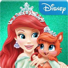 Disney Princess Palace Pets - the fanciest dog wash in town! (best Android kids apps)