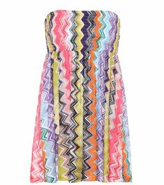 Striped crochet-knit dress | Missoni Mare