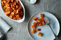 Sweet Potatoes Roasted in Coconut Oil