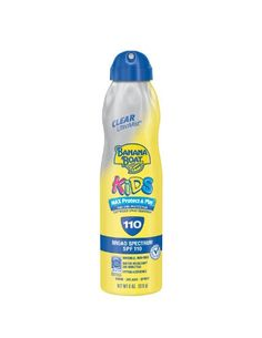Banana Boat UltraMist Kids MAX Protect  Play Clear Spray Sunscreen SPF 110: 6 OZ