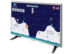 """TV LED 32"""" LG 32LH515B - Conversor Integrado 1 HDMI 1 USB com as melhores condições você encontra no Magazine Tonyroma. Confira!"""