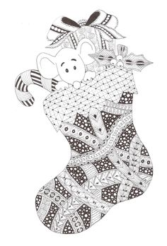 Zentangle made by Mariska den Boer 79