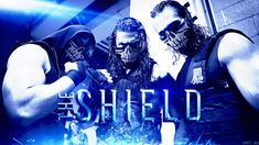 the shield wwe wallpapers | WWE ''The Shield'' - Wallpaper 2014 |Full HD| by JusttJaa