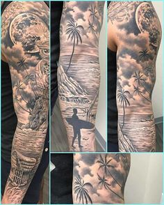 Tattoos Discover olio: Forearm Tattoo by Rob from Red 5 - Virginia Beach VA. Red Tattoos Tattoos 2014 Cute Tattoos Tribal Tattoos Tattoos For Guys Mini Tattoos Pretty Tattoos Ocean Sleeve Tattoos Ocean Tattoos Ocean Sleeve Tattoos, Lion Tattoo Sleeves, Torso Tattoos, Nature Tattoo Sleeve, Forarm Tattoos, Palm Tattoos, Best Sleeve Tattoos, Sleeve Tattoos For Women, Tattoo Sleeve Designs