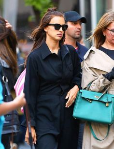 Save for the odd telescopic paparazzi snap, Irina Shayk is rarely caught in a tousled off-duty moment.