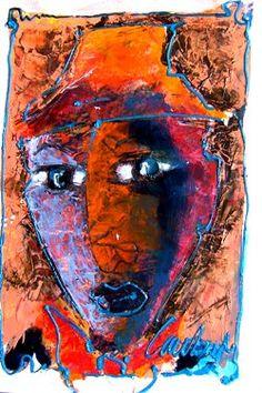 laubar art - The Art of Laurens Barnard Sunset Photos, Quilts, Embroidery, Inspiring Art, Painters, Inspiration, Faces, Portraits, Colour