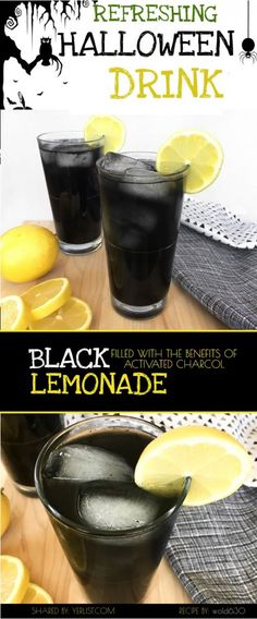 Black lemonade is a refreshing drink that gets its black color from activated charcoal. Activated charcoal has many health benefits including: preventing hangovers, whitening teeth, anti-aging, and removing toxins from the body. It works by bonding to toxins which get carried out of the body through elimination. (There is a much more scientific explanation of …