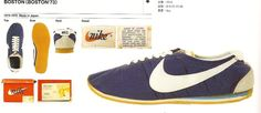 nike boston 1973 made in japan