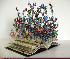 books come alive when you open them.