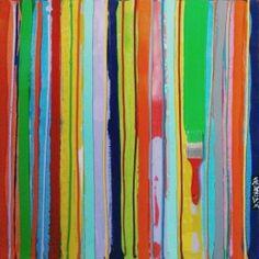 David Ferreira, Code Barre, Peinture