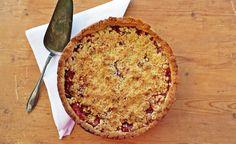 Pink Princess Bakings: Blomme Crumble Kage