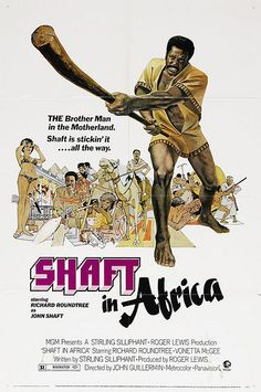 Black Cinema Series: Shaft In Africa by Black History Album, via Flickr