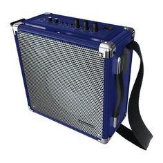 Wireless PA w/ BT speaker BLUE