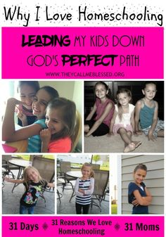 Leading My Kids Down God's Perfect Path | My Guest Post on They Call Me Blessed