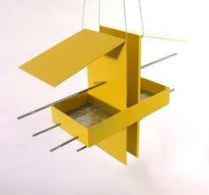 Duo Modern Hanging Bird Feeder