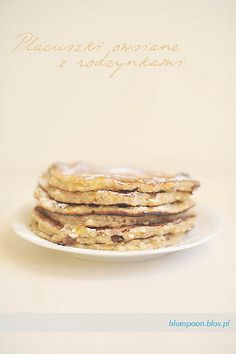 Ciepłe śniadanie czyli placuszki owsiane