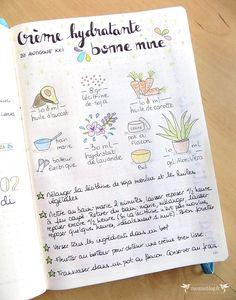 bullet-journal-recette-cosmetiques