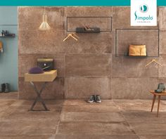 Who says tiles have to be conventional and boring? Check out these creative uses of tiles in flooring and let your imagination run wild. #ProjecTile #SimpoloCeramics