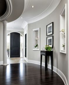 Living Room Design Dark Wood Floors - Living Room Design Dark Wood Floors , Dark Floors White Trim Grey Walls Od Floor Dark Floors with Grey Light Gray Bedroom, White Wall Bedroom, Light Grey Walls, White Walls, Wood Bedroom, Blue Walls, White Wood, Light Grey Wood Floors, Bedroom Furniture