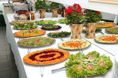saladas decoradas para festas - Pesquisa Google