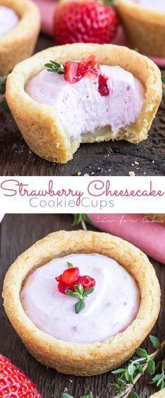 Strawberry Cheesecakes...