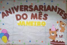 Painel dos aniversariantes -  vem com todos os meses prontinhos 40,00