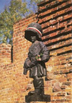 Monument of a Little Insurgent. The Warsaw Uprising was a major World War II operation by the Polish resistance Home Army (1944).