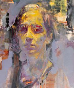 E, oil on canvas, Cian McLoughlin