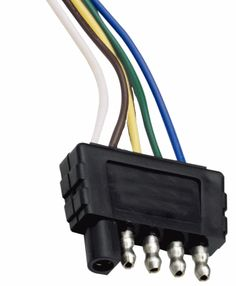 Need a trailer wiring diagram? This page has wire diagrams for many electric options including wires for trailer lights, brakes, alt power and connectors. Trailer Storage, Trailer Diy, Trailer Plans, Trailer Build, Utility Trailer, Boat Trailer Lights, Trailer Light Wiring, Trailer Wiring Diagram, Light Trailer
