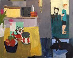 "ngruskin:  Nancy Gruskin, They're Great, 30"" x 24"", acrylic on panel, 2015."