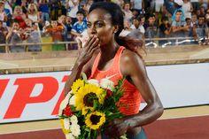 Genzebe Dibaba Breaks 1500-Meter World Record