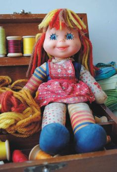 Eu tive uma boneca dessa *-----*