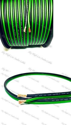power and speaker wire orion car audio zpw8250rd orion ztreet 8 power and speaker wire 200 feet true 12 gauge awg green bk speaker wire