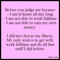 Chronic pain....yea l love being broke living on disability.