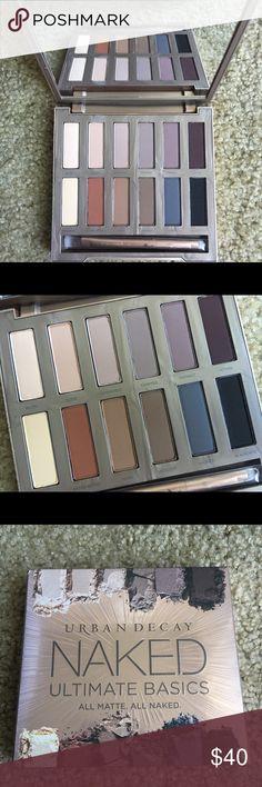 Urban Decay Naked Ultimate Basics Brand new  Ultimate Basics  All matte. All naked. Urban Decay Makeup Eyeshadow
