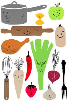 Matmisjonen, real food from ten bloggers