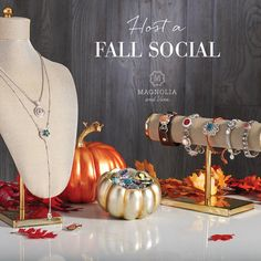 Holiday shopping is just around the corner.  Now is the perfect time to treat you and your friends to an online party and earn free Magnolia and Vine Snap jewellery.  You contact me, toll free at 1-855-593-7848.  www.mymagnoliaandvine.ca/lina