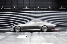 Mercedes Company made something unbelievable for the 2015 Frankfurt auto show. It is a new futuristic concept car Mercedes Benz Concept IAA. Mercedes Benz New Car, Mercedes Concept, Frankfurt, Transformers, Benz Smart, Automobile, Wind Tunnel, Limousine, Dream Cars