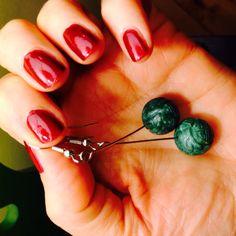 Green dangly balls  Balls, Jewellery, Fruit, Green, Food, Jewels, Schmuck, Essen, Meals