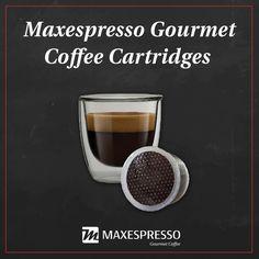 The Maxespresso cartridges are compatible with the Lavazza® Espresso Point machine  Los cartuchos de Maxespresso son compatibles con la máquina Lavazza®* Espresso Point