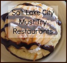 Best Places to Eat in Salt Lake City.. I would add a few more and call me crazy but take cafe rio off the list, that's just silly