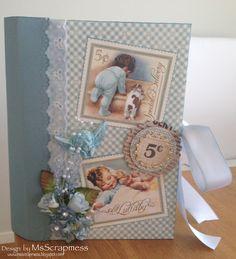 Baby Album - Designer: Pernilla Svalborg Baby Album, Baby Cards, Baby Shower Gifts, Frame, Crafts, Inspiration, Design, Home Decor, Baby Shower Presents