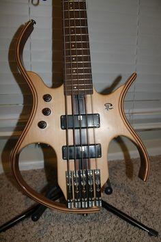 Paul Lairat / PL4 Stega 5 String Headless Bass