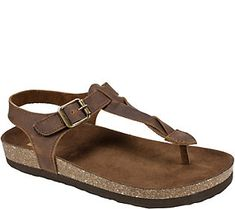 d9b8f806838 White Mountain Leather Thong Sandals - Hara