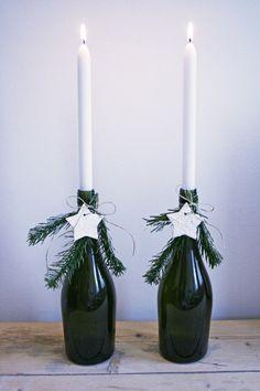 DIY: kerst kandelaren #christmas