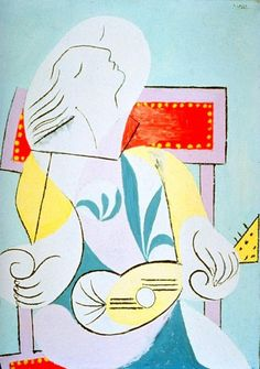 Pablo Picasso, 1932 Jeune fille à la guitare