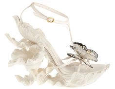 Alexander McQueen Shoes | Alexander-McQueen-ss-2011-white-butterfly-shoes03