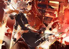 埋め込み画像 Touken Ranbu Nakigitsune, Anime Weapons, Image Manga, Dark Anime, Manga Illustration, Illustrations, Anime Artwork, Manga Games, Manga Comics