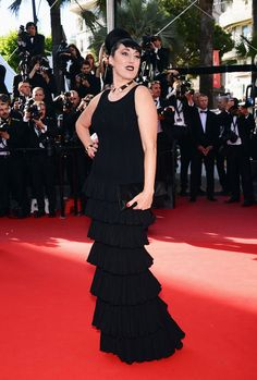 Cannes closing ceremony 2013  Rossy de Palma