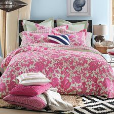 PALM TREE BEDDING! Discover the best palm tree bedding sets, comforters, duvet covers, quilts, sheets, shams, throw pillows, and more.
